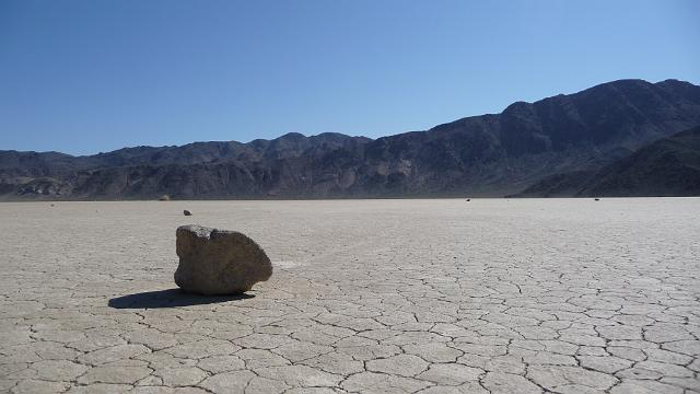 Racing Rock at Race Track, Death Valley